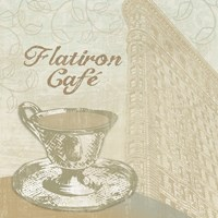 Flatiron Cafe Framed Print