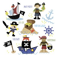 Pirates & Ships Fine Art Print