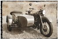 Ural Motorcycle 1 Fine Art Print