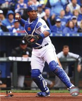 Salvador Perez 2015 Action Fine Art Print
