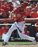 Billy Hamilton 2015 Action Fine Art Print