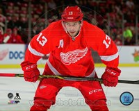 Pavel Datsyuk 2014-15 Action Fine Art Print