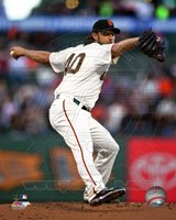 Madison Bumgarner 2015 Action Fine Art Print