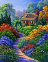 Nestled Cottage Fine Art Print
