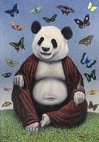 Panda Buddha Fine Art Print
