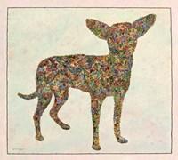 Chihuahua Shape Fine Art Print