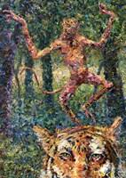 Crazy Monkey Fine Art Print