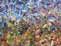 Fragmented Garden 9K Fine Art Print