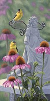 Garden Angels Fine Art Print