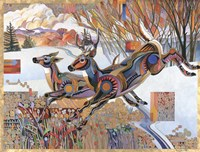 Front Range Whitetail Fine Art Print