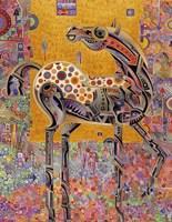 Secessionist Horse Fine Art Print