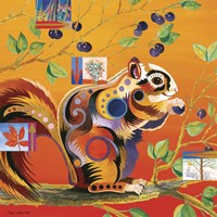 Squirreling Away Fine Art Print
