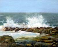 Churning Sea Fine Art Print