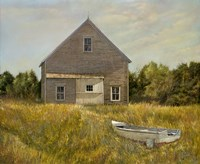 Huppers Barn Fine Art Print