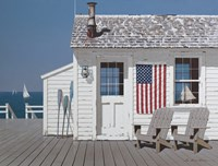 Dockside Flag Fine Art Print