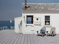 Dock House Fine Art Print
