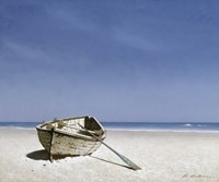 Beached Boat 2 Framed Print