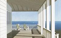 Two Chairs, Southampton Fine Art Print