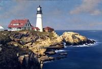 Coastal Lighthouse Fine Art Print