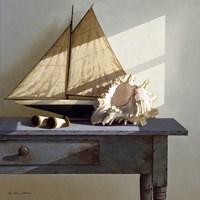 Shell & Sail Fine Art Print