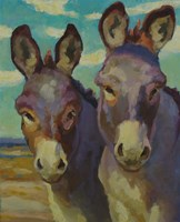 Just Looking Burros Fine Art Print