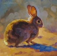 Sunny Bunny Fine Art Print