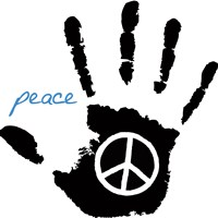 Peace Hand Fine Art Print