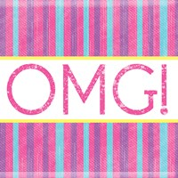 OMG Stripes Fine Art Print