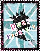 Punk Princess Framed Print