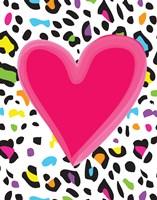 Leopard Heart 2 Fine Art Print