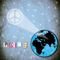 Peace Earth Fine Art Print