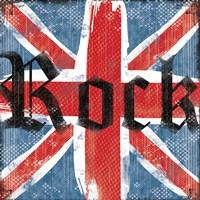 UK Rock II Framed Print