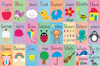Alphabet Squares Fine Art Print