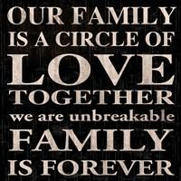 Our Family 3 Framed Print