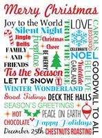 Merry Christmas Fine Art Print