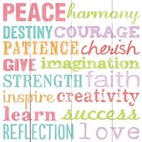 Peace Harmony Destiny Framed Print