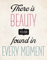 There is Beauty 2 Framed Print