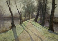 The First Frost, c. 1900 Fine Art Print