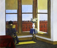 Room in Brooklyn, 1932 Fine Art Print