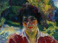 Portrait of Signora Armida Brucky 1909 Fine Art Print