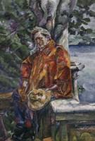 Portrait of Maestro Ferruccio Busoni 1916 Fine Art Print