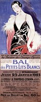 Le Bal des Petits Lits Blancs 1922 Fine Art Print