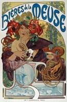 Les Bieres de la Meuse, 1898 Fine Art Print