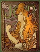 Job - Cigarette Paper Ad Fine Art Print
