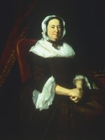 Mrs Samuel Hill (Miriam Kilby) 1764 Fine Art Print