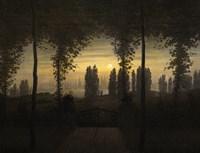 In Memoriam JE Bremer, 1817 Fine Art Print