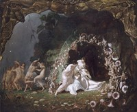 Titania Sleeping, 1841 Fine Art Print