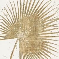 Gold Leaves II Framed Print