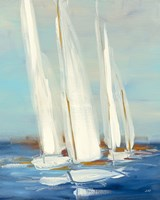 Summer Regatta II Fine Art Print