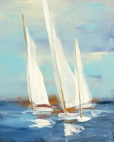 Summer Regatta III Fine Art Print